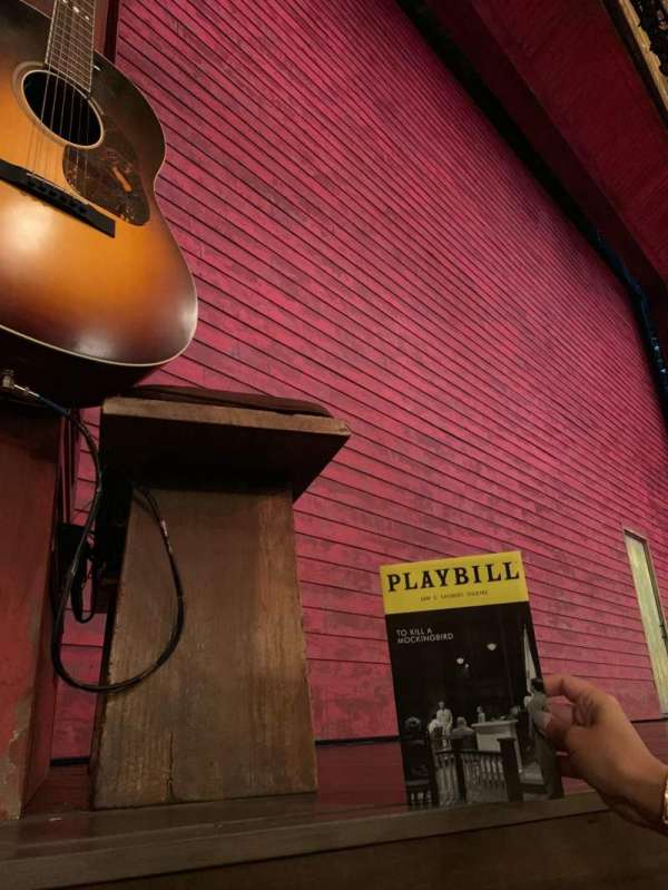 Shubert Theatre, section: Orchestra L, row: B, seat: 11