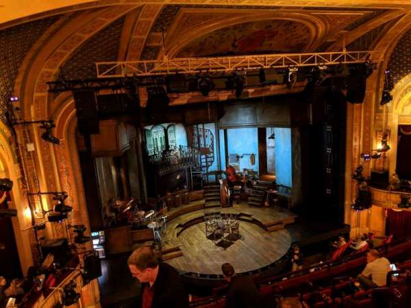 Walter Kerr Theatre, section: Mezzanine L, row: H, seat: 9