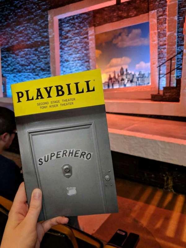 Tony Kiser Theatre, section: Orchestra, row: B