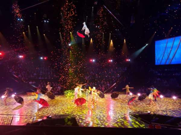 Love Theatre - The Mirage, section: 205, row: L, seat: 12