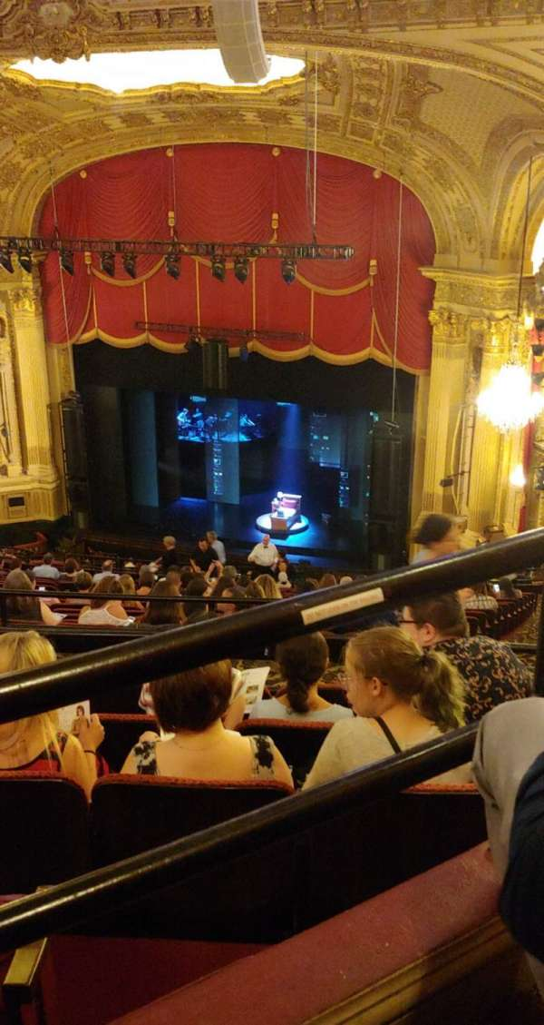 Citizens bank opera house, section: BALRGT, row: U, seat: 36