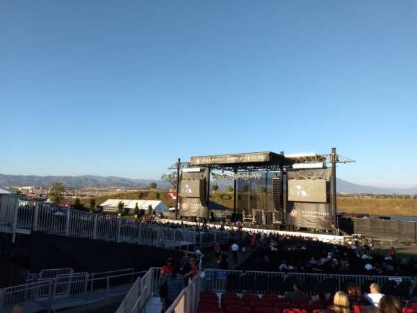 FivePoint Amphitheater, section: Terrace 302, row: 12, seat: 1