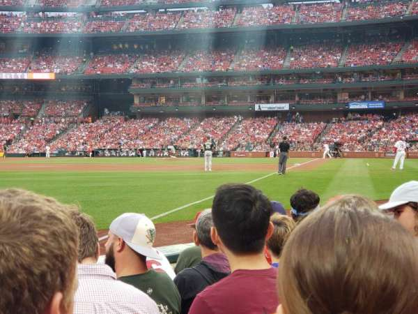 Busch Stadium, section: 165, row: E, seat: 10