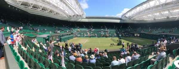 Wimbledon, Centre Court, section: 204, row: A, seat: 87