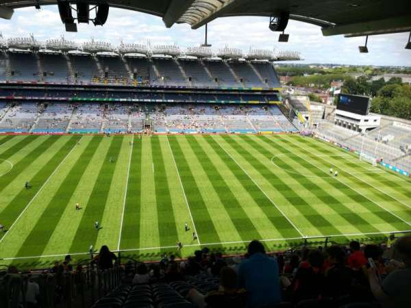 Croke Park, section: 706, row: W, seat: 10