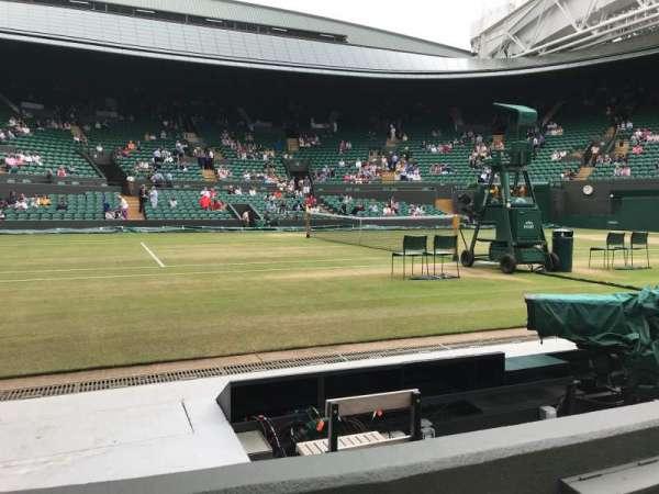 Wimbledon, Court No. 1, section: Gangway 30, row: B, seat: 42