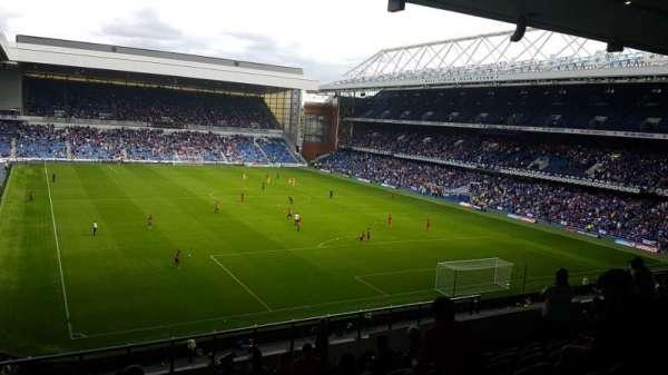 Ibrox Stadium, section: BR5, row: M, seat: 160