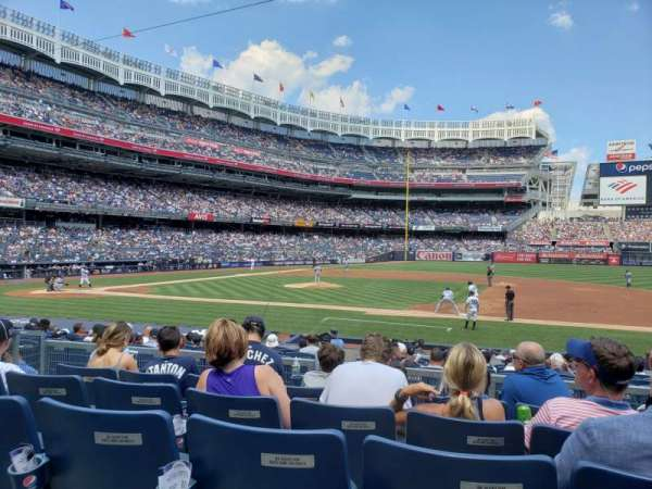 Yankee Stadium, section: 115, row: 5, seat: 6