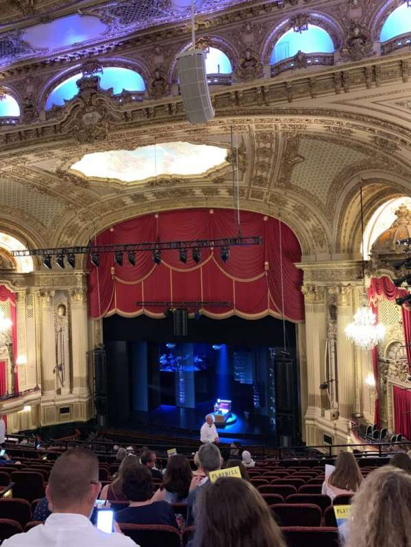 Citizens Bank Opera House, section: Right Mezzanine, row: M, seat: 14