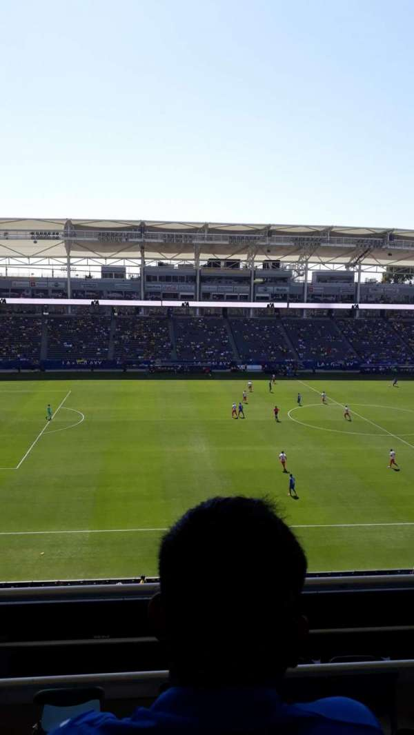 Dignity Health Sports Park, section: 234, row: FF, seat: 11