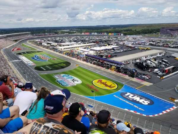 Charlotte Motor Speedway, section: E, row: 68, seat: 10