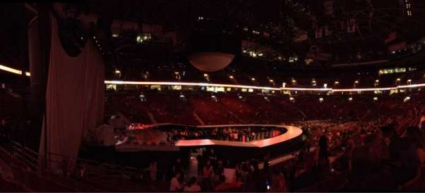 Rogers Arena, section: 120, row: 15, seat: 9