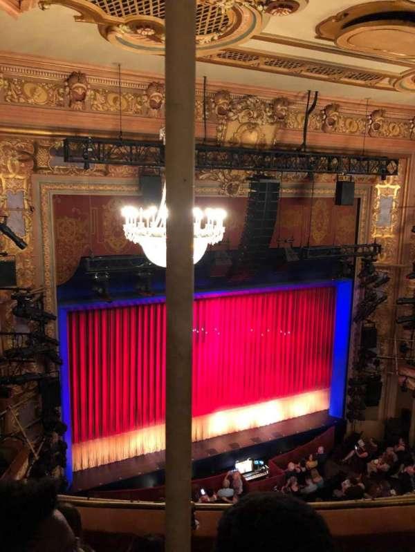 Longacre Theatre, section: Balcony L, row: D, seat: 12