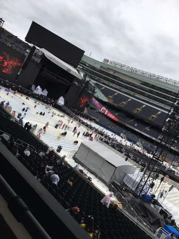 Soldier Field, section: 235, row: 1, seat: 13