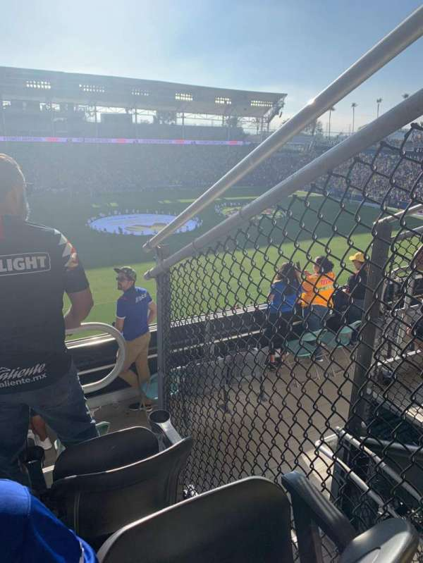 Dignity Health Sports Park, section: 234, row: Ee, seat: 7,8,9