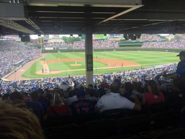 Wrigley Field, section: 221, row: 21, seat: 16