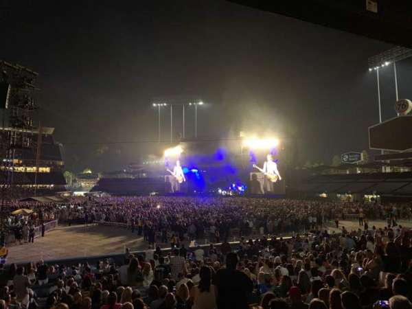 Dodger Stadium, section: 22FD, row: U, seat: 1