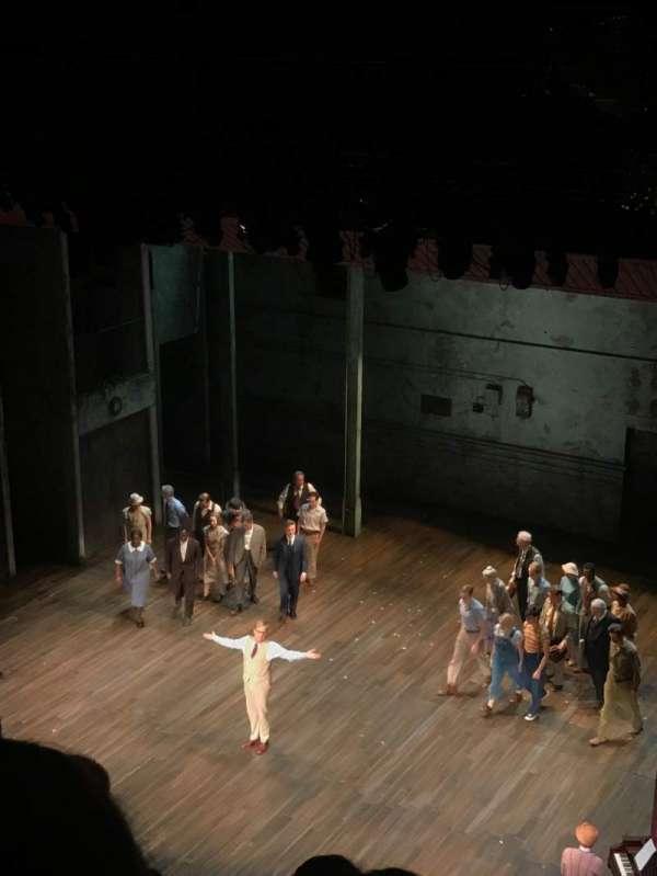 Shubert Theatre, section: Balcony R, row: D, seat: 18