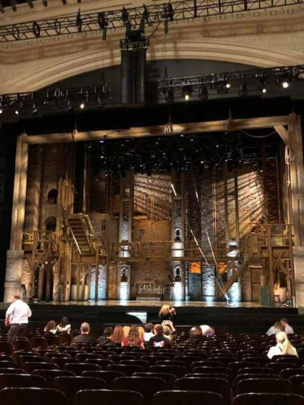 Orpheum Theatre (San Francisco), section: Orchestra RC, row: U, seat: 116