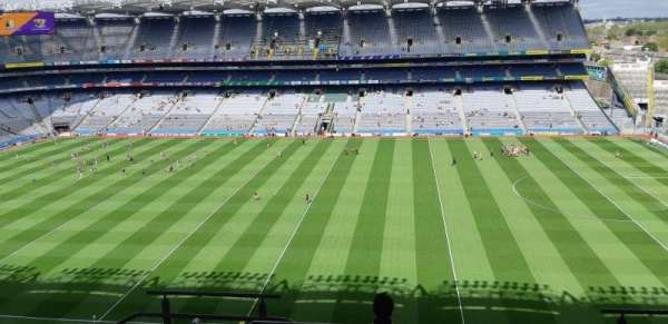 Croke Park, section: 704, row: m, seat: 19