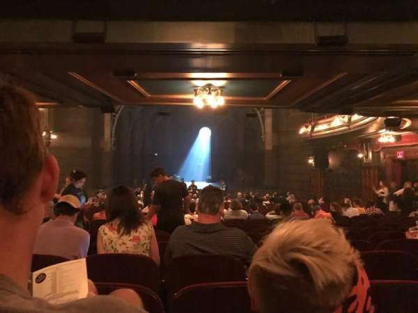 Lyric Theatre, section: Orchestra R, row: Y, seat: 16