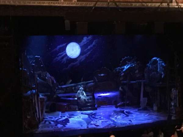 Hollywood Pantages Theatre, section: Mezzanine LC, row: F, seat: 312