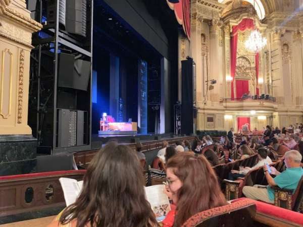 Citizens Bank Opera House, section: LOBXLV, row: B, seat: 53