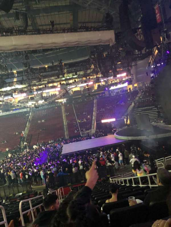 Toyota Center, section: 105, row: 17, seat: 4