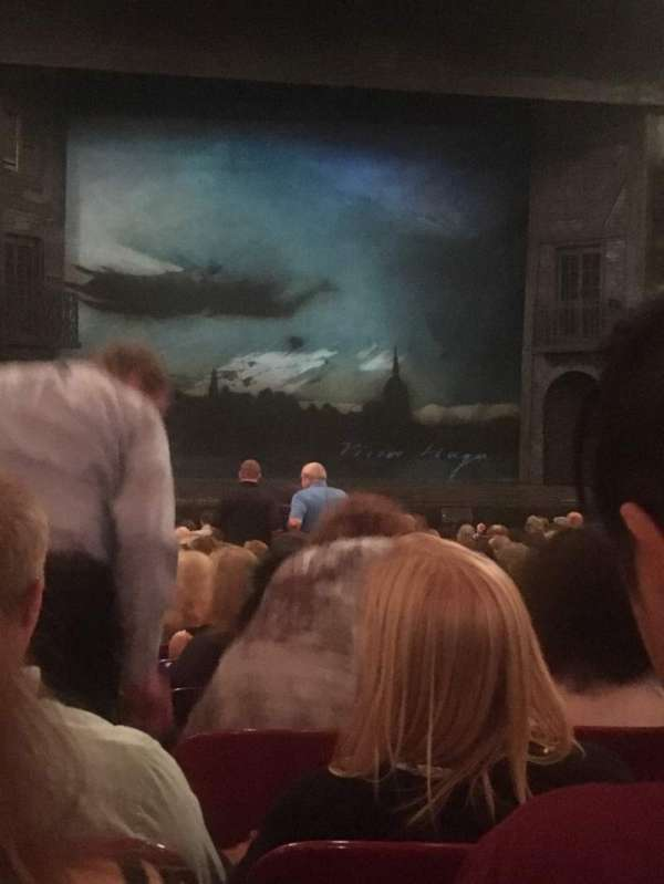 Cadillac Palace Theater, section: Orchestra C, row: S, seat: 101