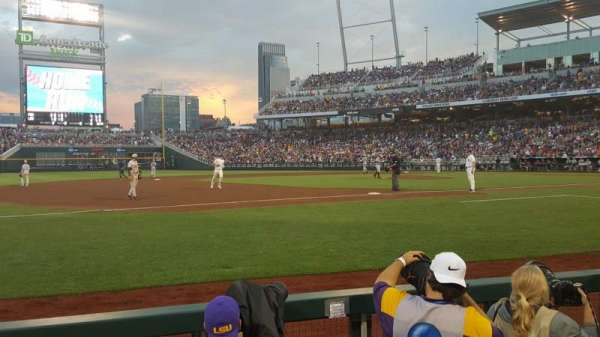 TD Ameritrade Park, section: 119, row: 4, seat: 9