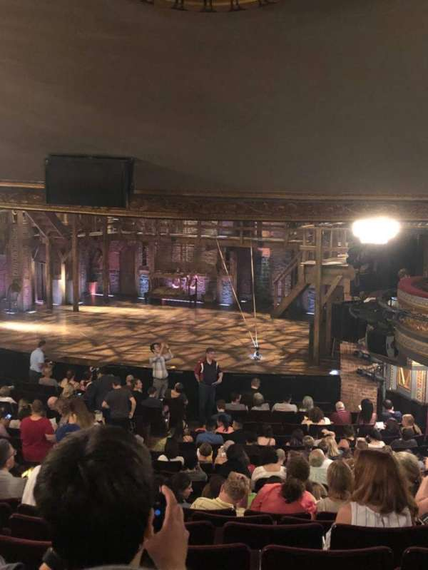 Richard Rodgers Theatre, section: Orchestra R, row: V, seat: 28