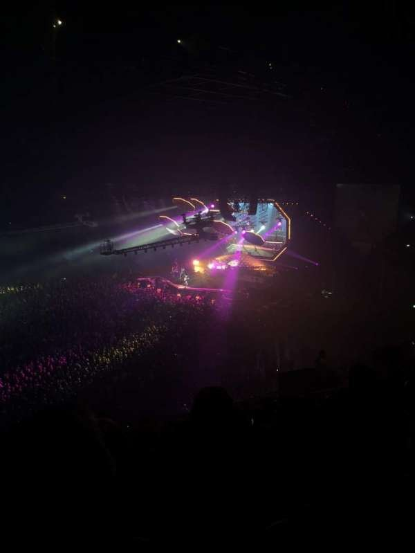The SSE Hydro, section: 234, row: V, seat: 315