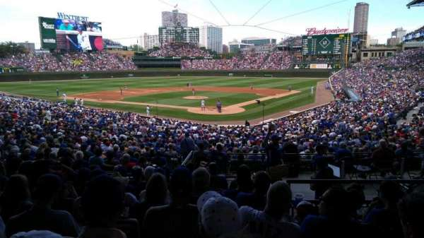 Wrigley Field, section: 216, row: 8, seat: 11
