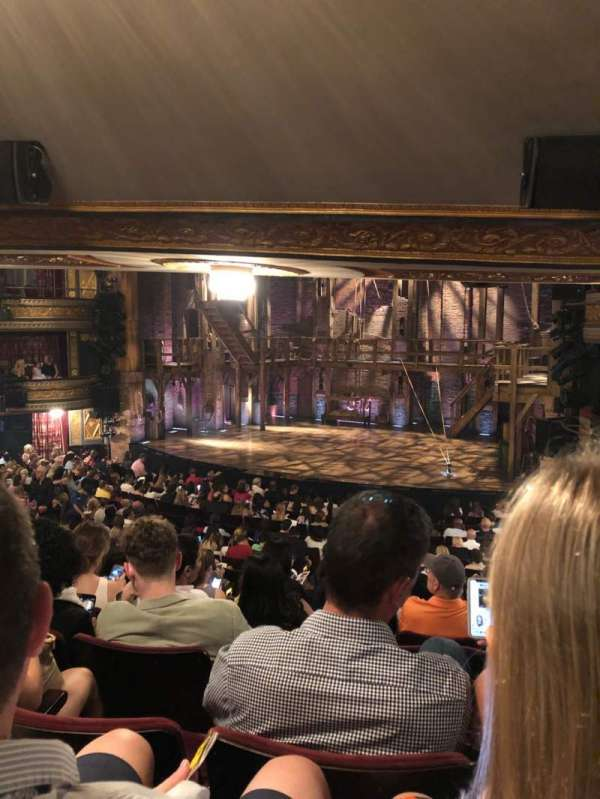 Richard Rodgers Theatre, section: Orchestra R, row: T, seat: 18