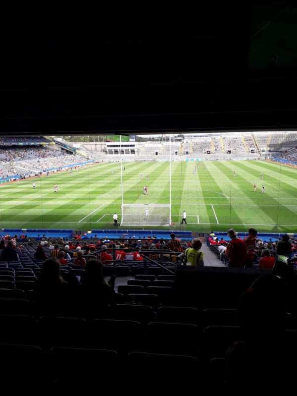 Croke Park, section: 318, row: Ww