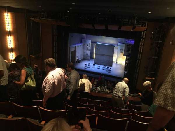 The Kennedy Center Eisenhower Theater, section: Balcony, row: G, seat: 12