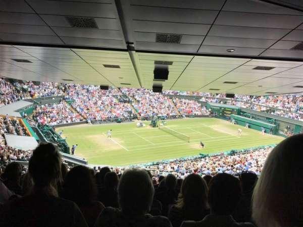 Wimbledon, Centre Court, section: 523, row: ZD, seat: 432