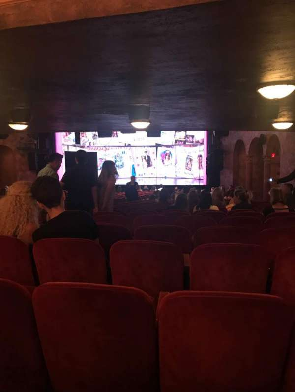 August Wilson Theatre, section: Orchestra R, row: ZZ, seat: 6