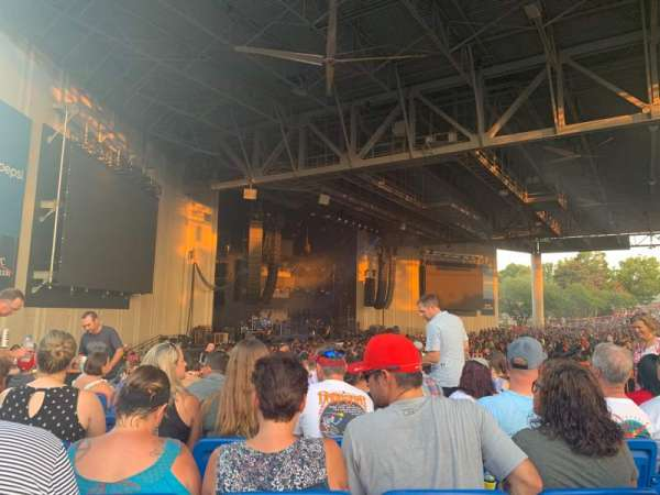 PNC Music Pavilion, section: 9, row: K, seat: 13-14