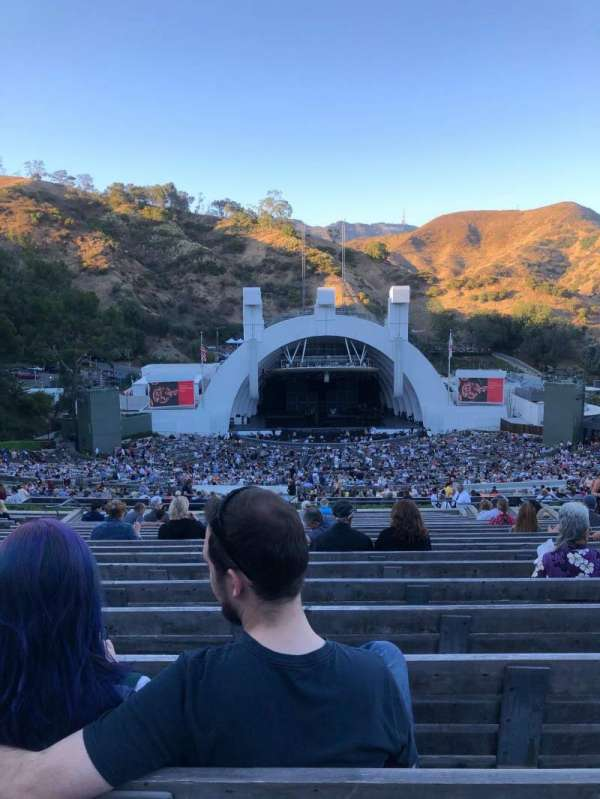 Hollywood Bowl, section: N1, row: 22, seat: 26