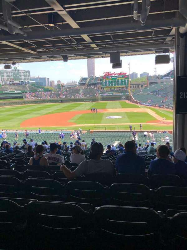 Wrigley Field, section: 213, row: 16, seat: 5