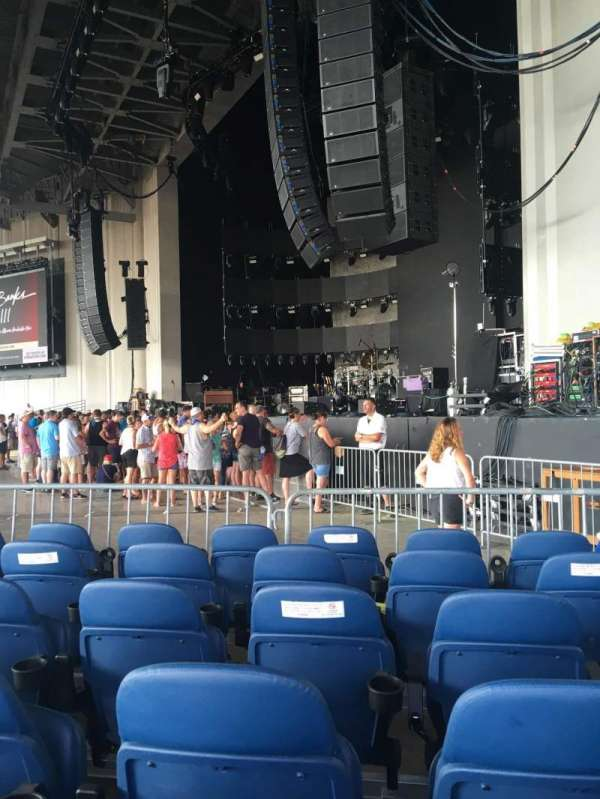PNC Music Pavilion, section: 1, seat: 5