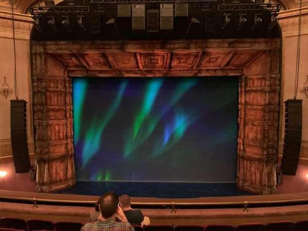 St. James Theatre, section: Mezzanine C, row: F, seat: 107