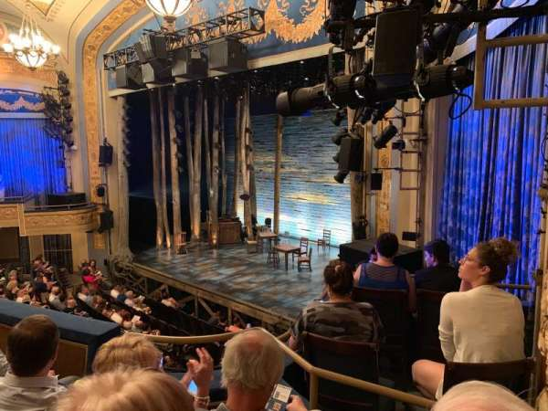 Gerald Schoenfeld Theatre, section: Mezzanine R, row: C, seat: 28