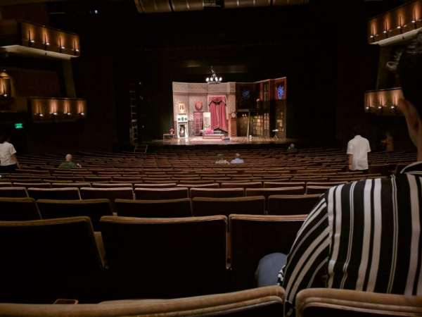 Ahmanson Theatre, section: Orch, row: W, seat: 24