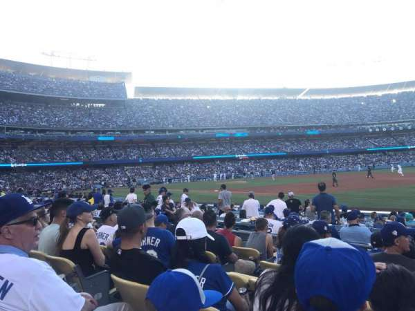 Dodger Stadium, section: 34FD, row: F, seat: 6