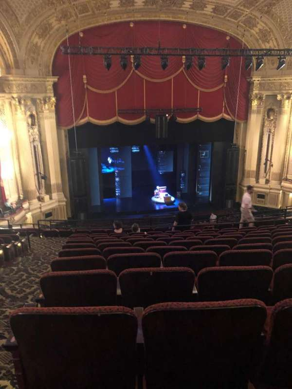 Citizens Bank Opera House, section: Mezz Left Center, row: K, seat: 121
