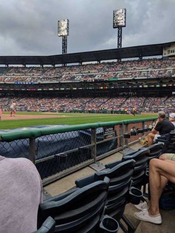 PNC Park, section: 26, row: B, seat: 6