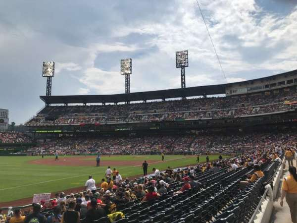 PNC Park, section: 130, row: B, seat: 2