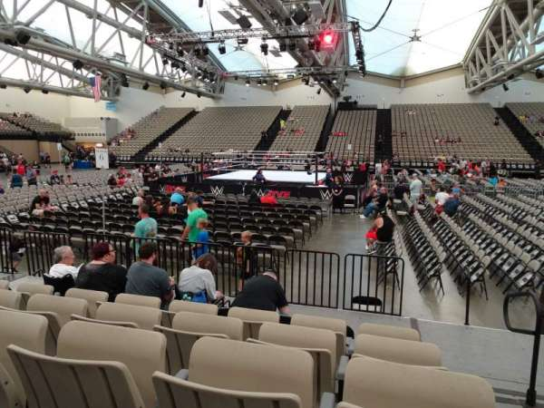 Oceanfront Arena at Wildwoods Convention Center, section: A3, row: F, seat: 34-35